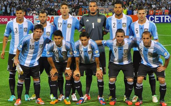 Seleccion Argentina para Brasil 2014