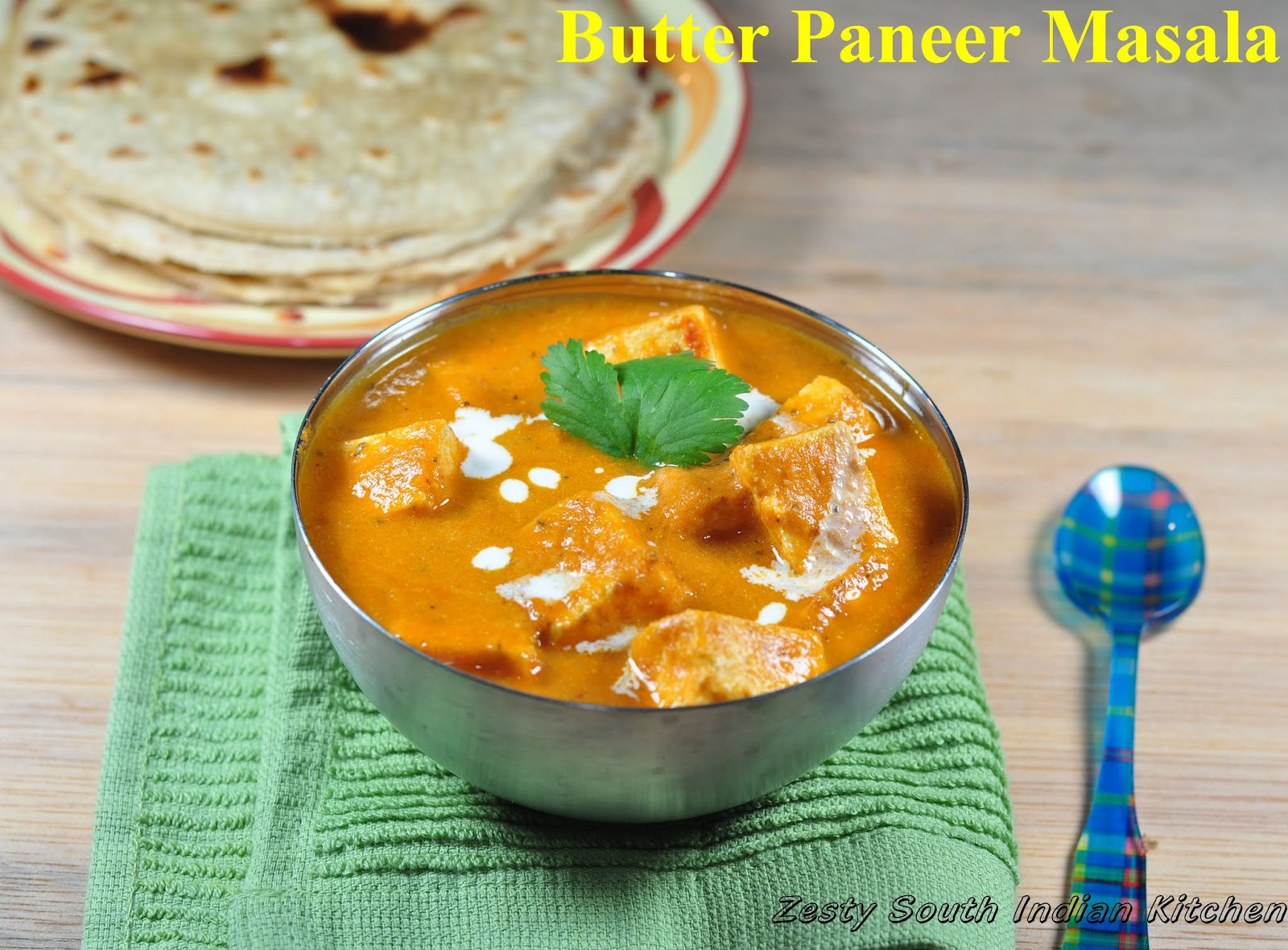 Paneer Makhani/ Butter Paneer Masala: A guest for Feeding Big and More ...