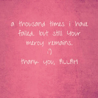 thank you ALLAH islamic quote