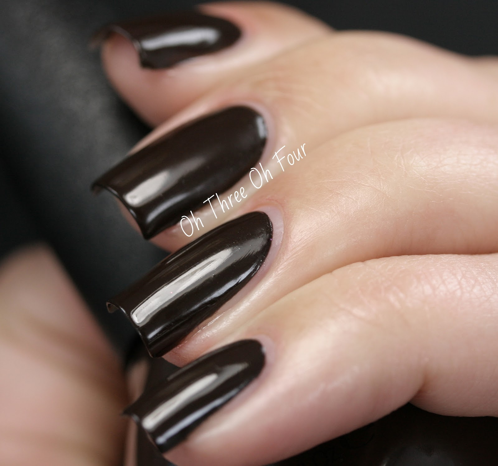 Nicole by OPI Promises in the Dark Swatch