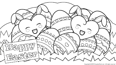 13 Cute Easter Coloring Pages gt gt