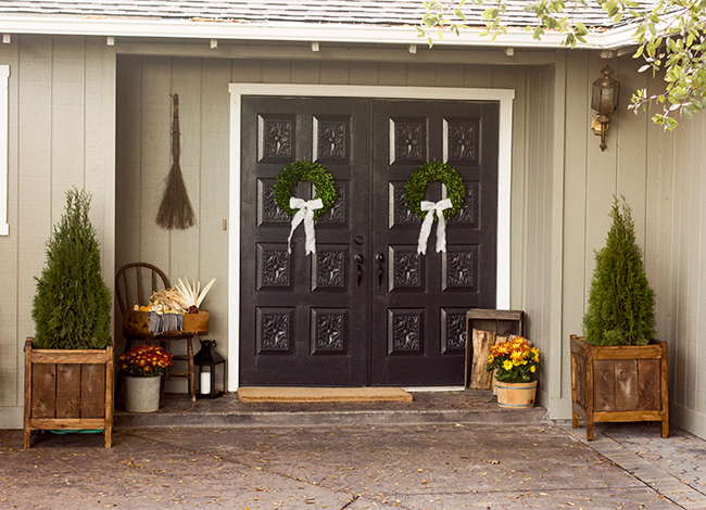 Front Porch Foyer : Fall front porch foyer free printable kitchen trends