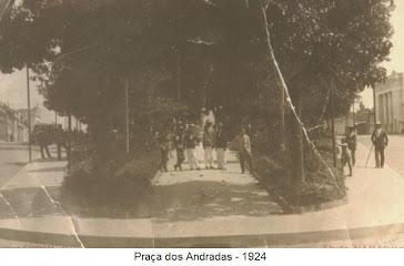 PRAÇA DOS ANDRADAS 1924