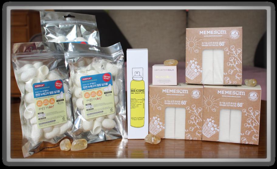 겟잇뷰티박스 by 미미박스 memebox beautybox review memeshop products haul recipe by nature memesom wonderuci silk cocoons