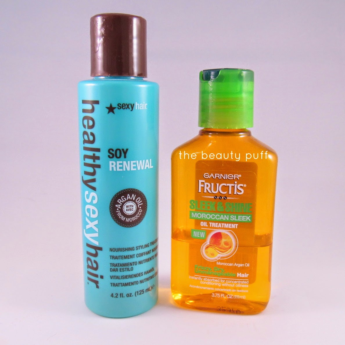 healthy sexy hair garnier fructis hair serum - the beauty puff
