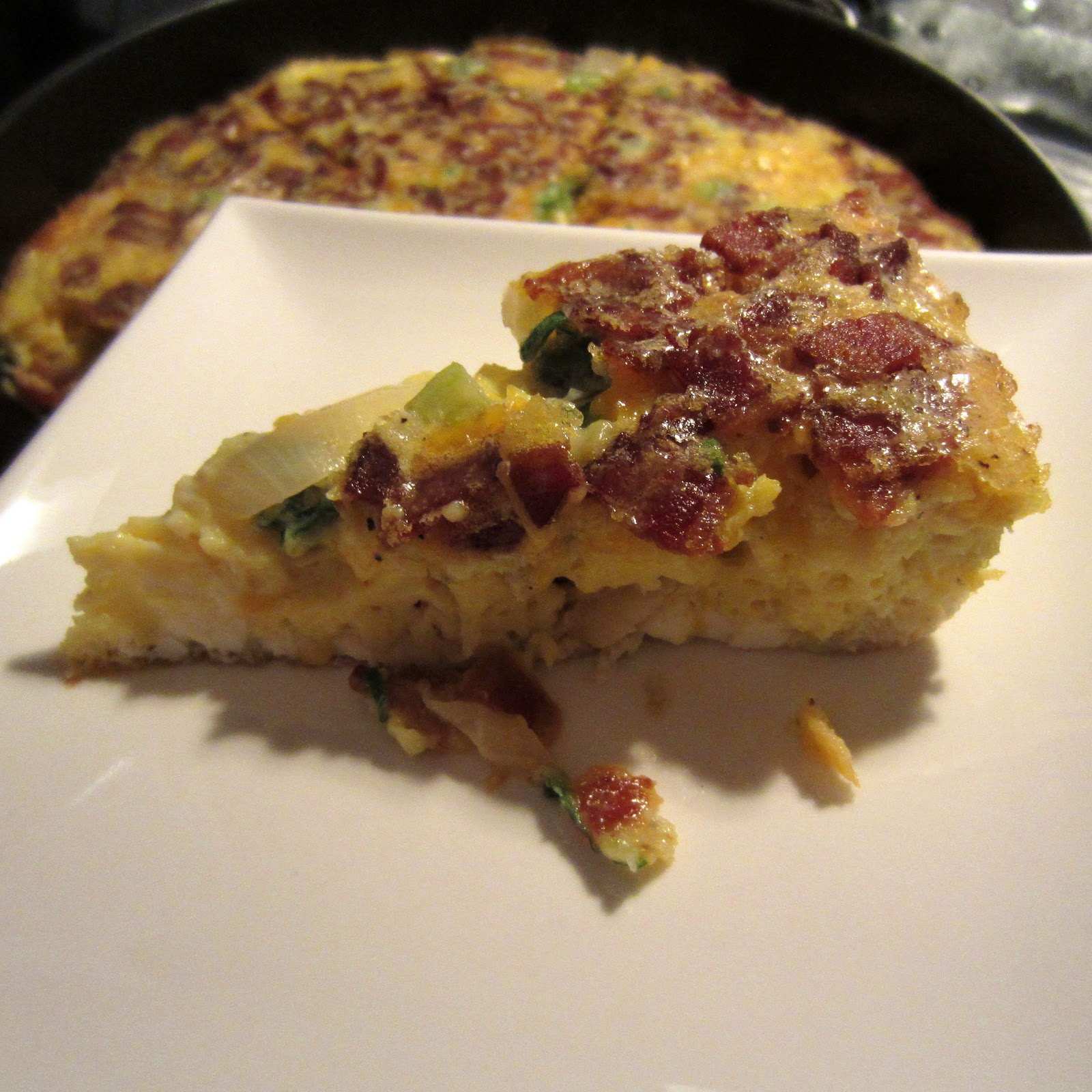 ... Making, Crafts & Personal Ramblings: New Year's Breakfast Frittata