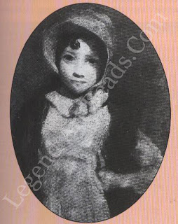 This girl in a fox fur may be maria aged 12