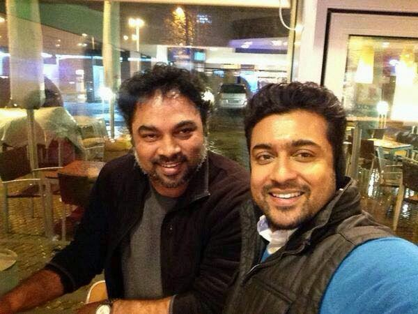 Masss-New-Shooting-Spot-Images-Surya-With-Choreographer-Kalyan