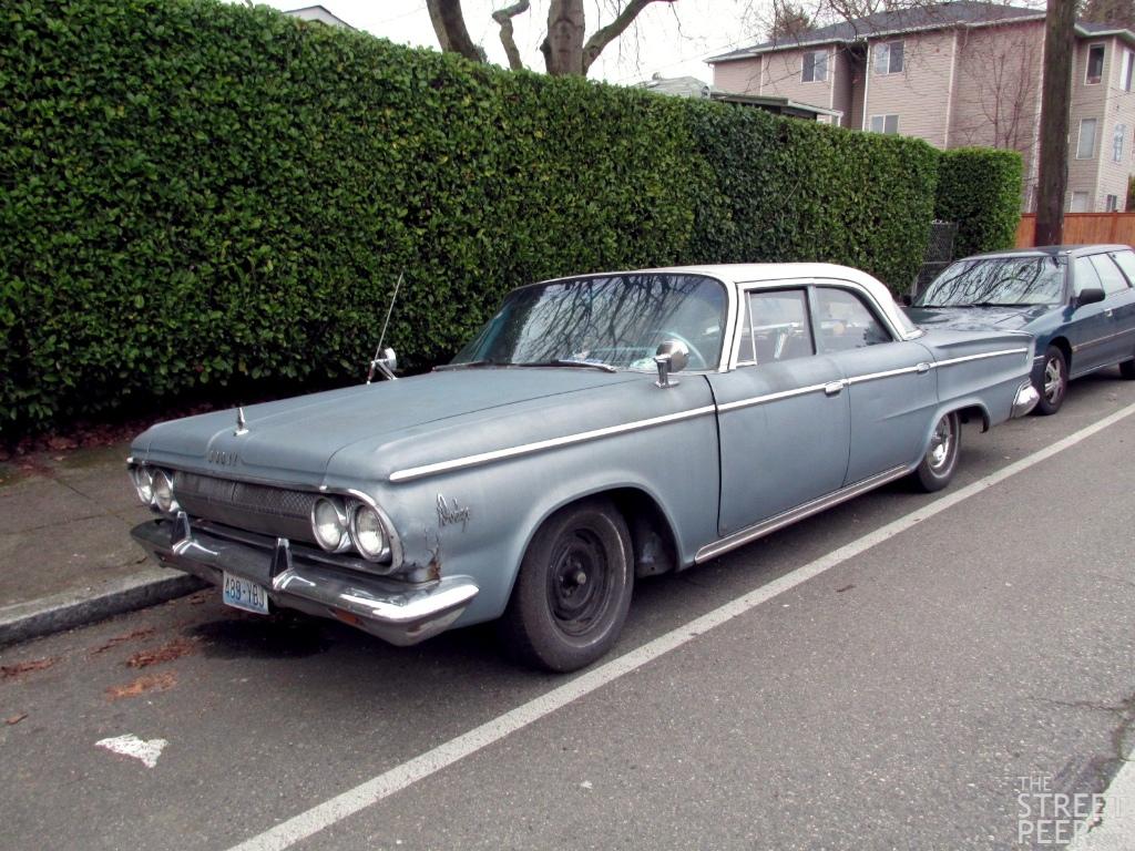 THE STREET PEEP: 1963 Dodge 880 Sedan