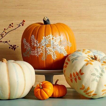 El blog de nitya halloween 2014 - Calabazas pintadas y decoradas ...