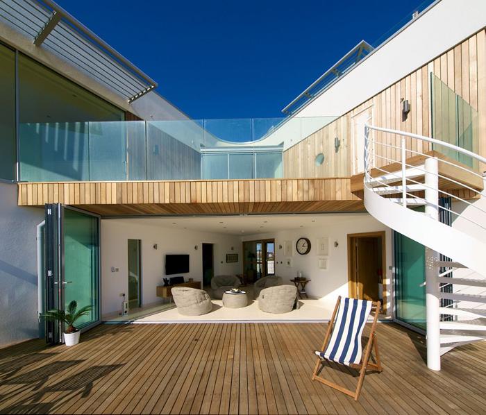 Casas minimalistas y modernas casa minimalista de playa - Casa de playa ...