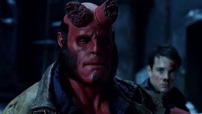 Screen Shot Of Hollywood Movie Hellboy (2004) In Hindi English Full Movie Free Download And Watch Online at worldfree4u.com