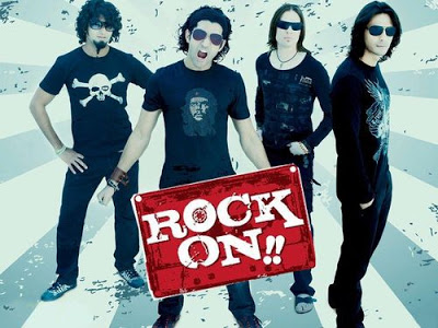 Poster Of Bollywood Movie Rock On (2008) 300MB Compressed Small Size Pc Movie Free Download exp3rto.com