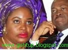 Wife of the Enugu State Governor, Clara Chime and her husband