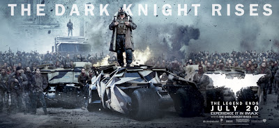 The Dark Knight Rises Theatrical Movie Banner Set 3 - Tom Hardy as Bane