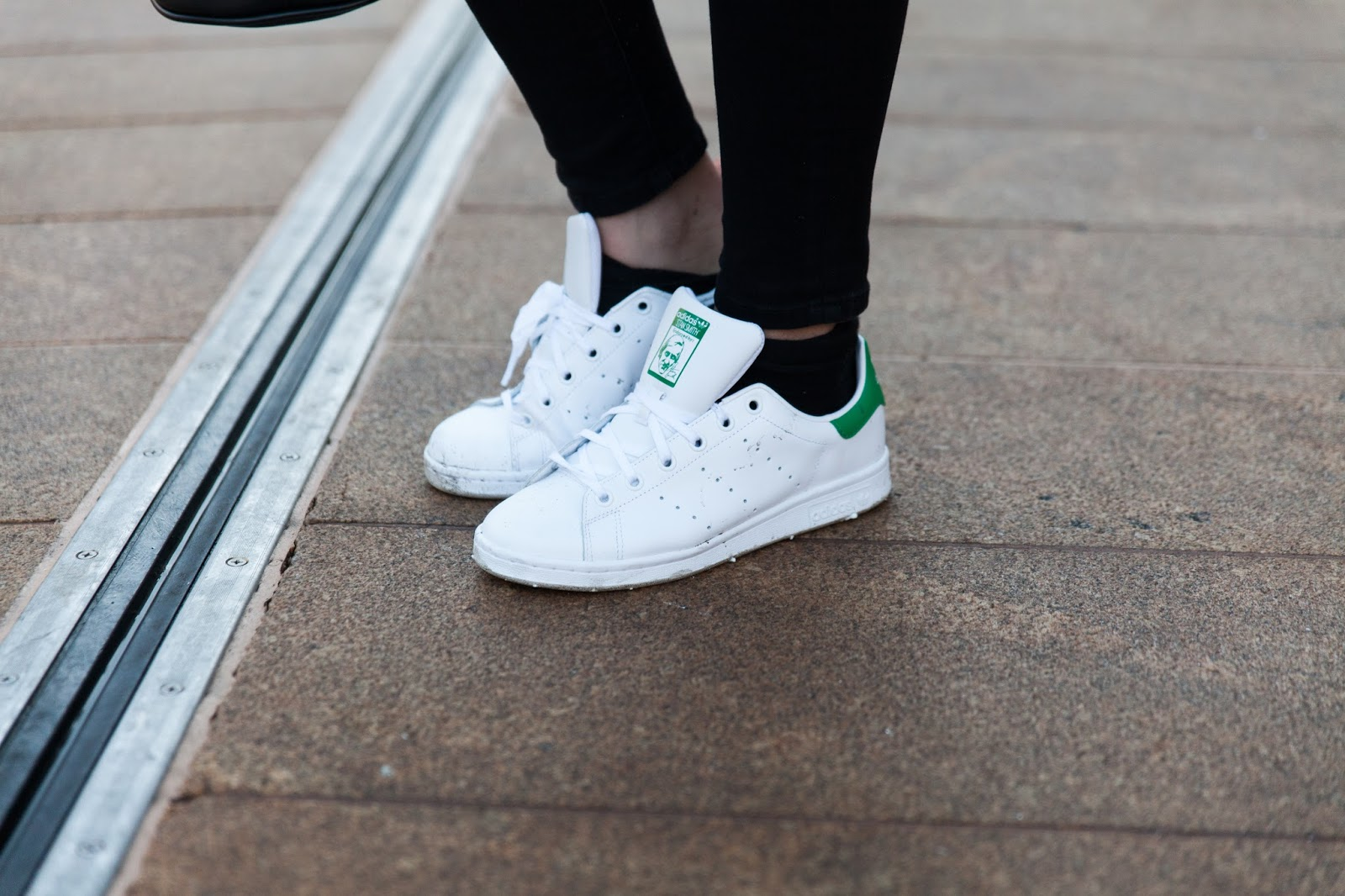 Adidas Stan Smith On Feet