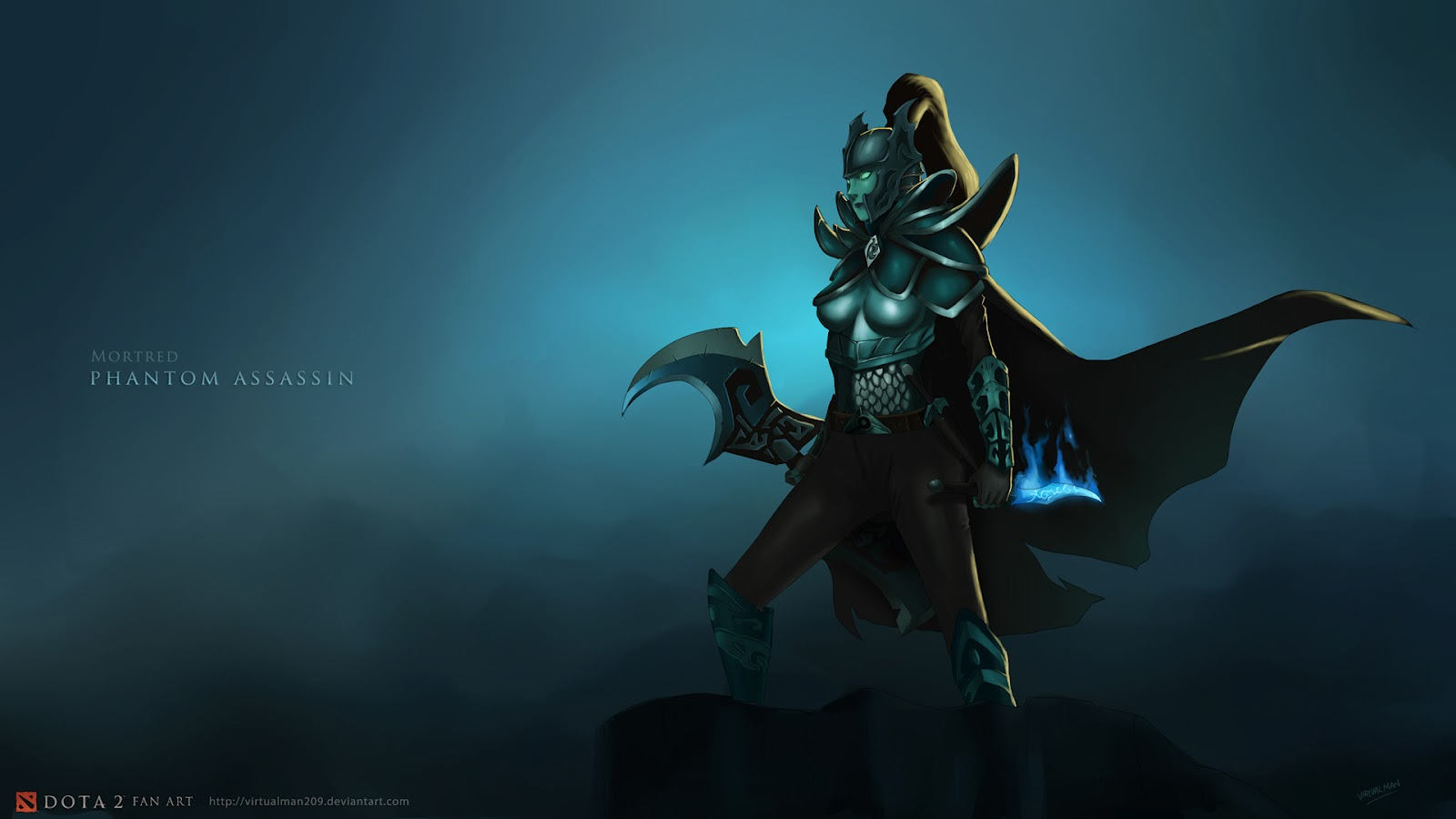 Dota 2 wallpaper mortred by virtualman