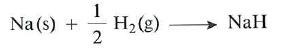 reaccion del hidrogeno con metales activos
