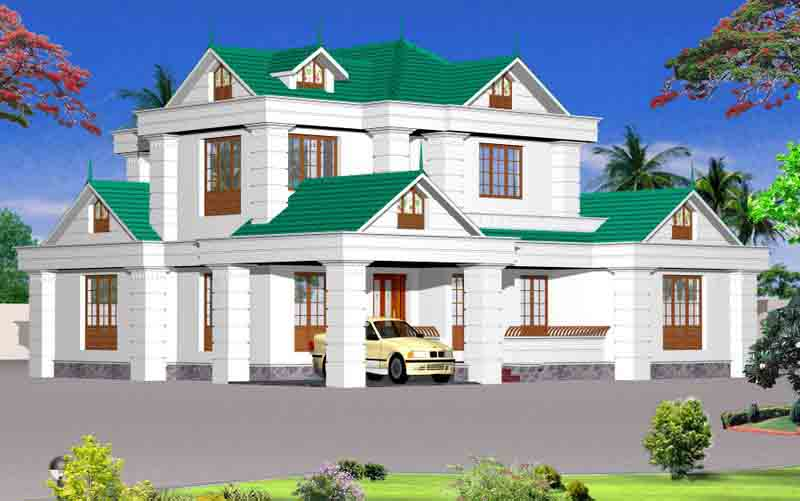 Home decorations kerala house plans home plans with for Home designs for kerala