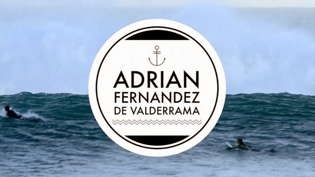 Adrian Fernandez de Valderrama 17yo - Surfing