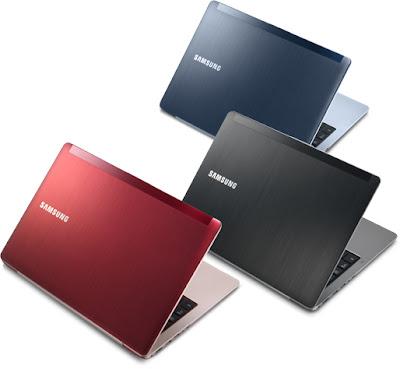 harga dan pilhan warna samsung ultrabook seri 5 dan seri 7