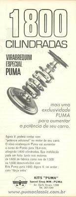 Virabrequim Puma 1800