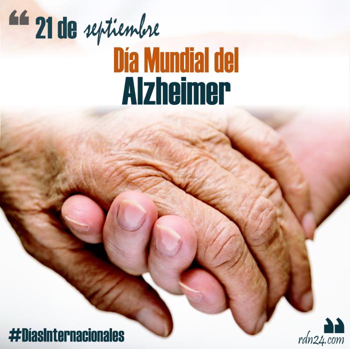 21 de septiembre – Día Mundial del Alzheimer #DíasInternacionales