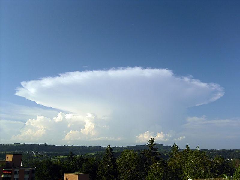 Clouds 101: Cumulonimbus Capillatus Incus - Simply Selma
