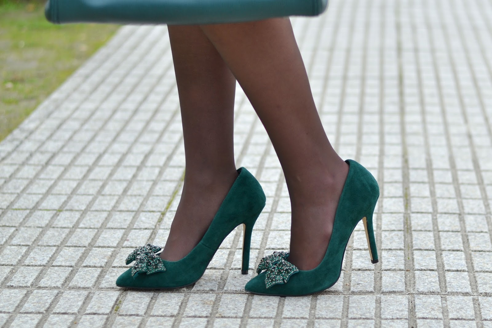 zapatos menbur verdes