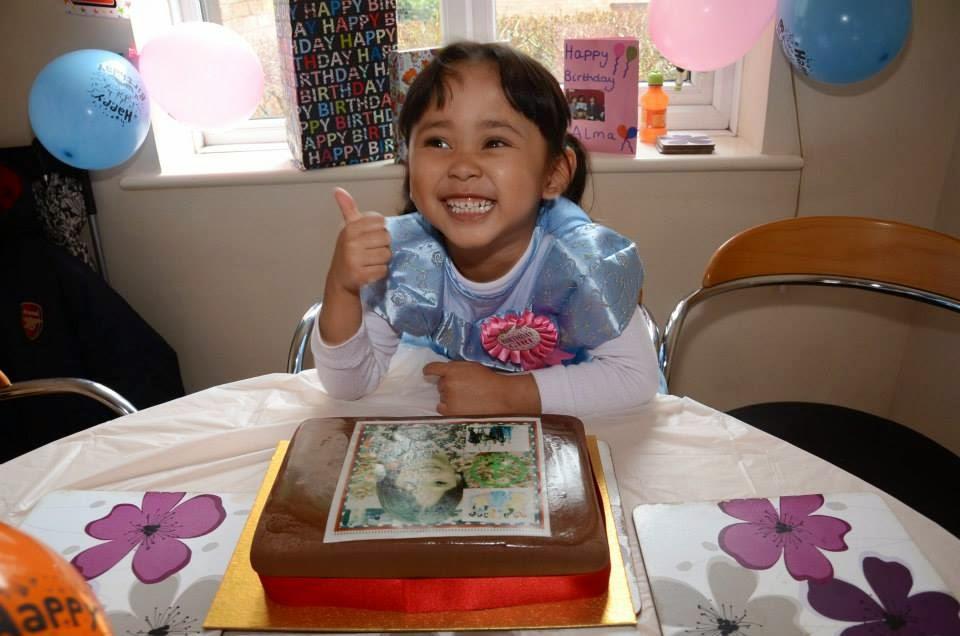 Alma Muzfirah - 4 tahun (2015)