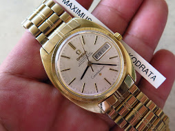 OMEGA CONSTELLATION CHRONOMETER GOLD TOP - AUTOMATIC CAL 751