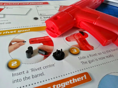 Interplay Giant Hornet review rivet gun and paper rivets