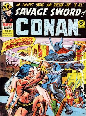 Marvel UK, Savage Sword of Conan #17