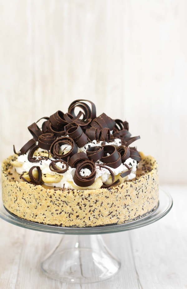 Deep Dish Banoffee Pie | Sprinkle Bakes