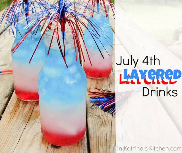 Layered Drink Tutorial from @katrinaskitchen