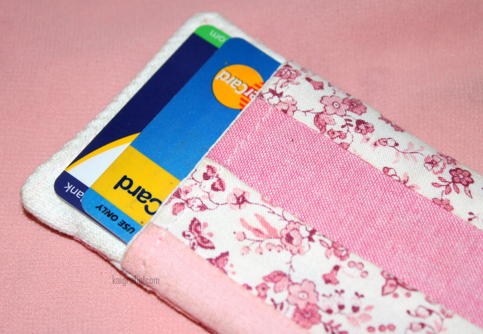 Recycled Card Holder