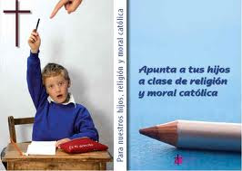APUNTA A TUS HIJOS A CLASE DE RELIGIÓN