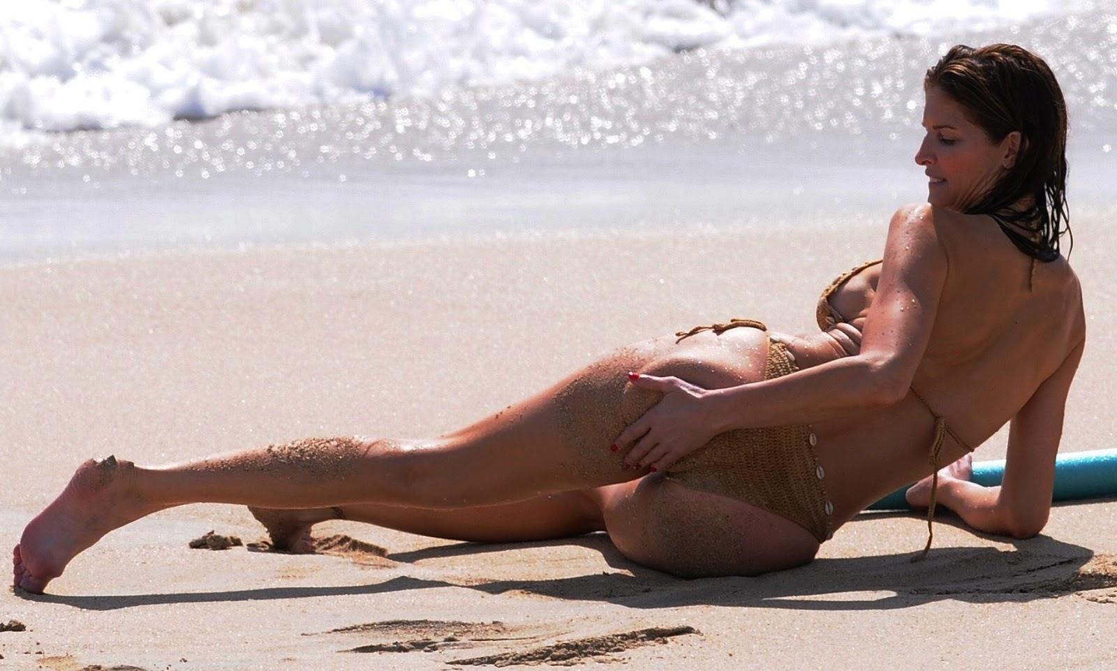 Are not sexy stephanie seymour bikini commit error