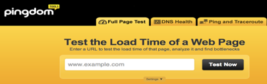 Free Online Tools For Website Speed Testing 2