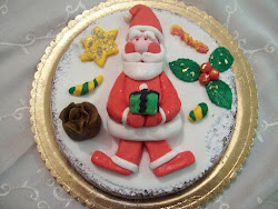 Torta Babbo Natale