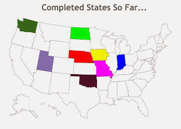 States completed so far...