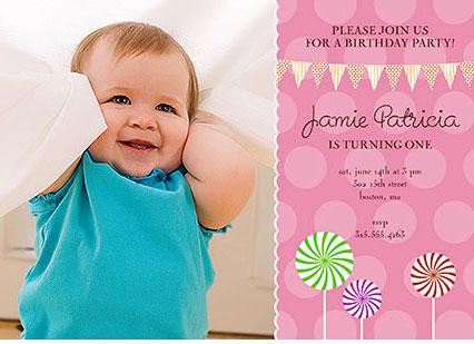 1st birthday photo invitations girl so pretty invitations and 1st birthday invitations filmwisefo