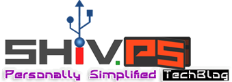 ShivPS : Personally Simplified TechBlog