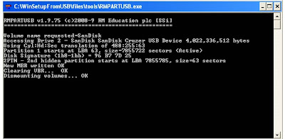 Cara Instal Windows XP dengan Flashdisk