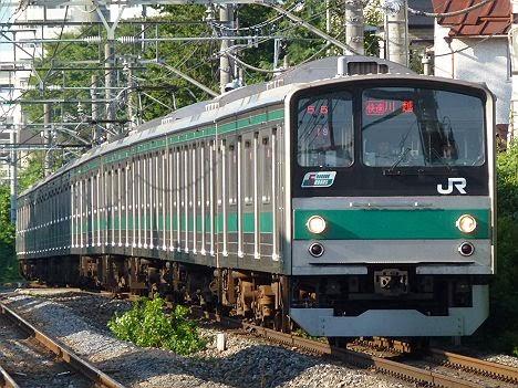 埼京線 快速 川越行き1 205系