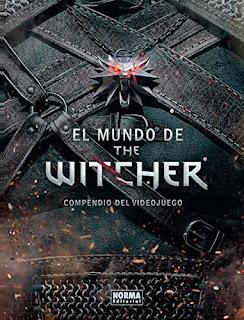 """libro """"El mundo de The Witcher. Compendio del videojuego"""