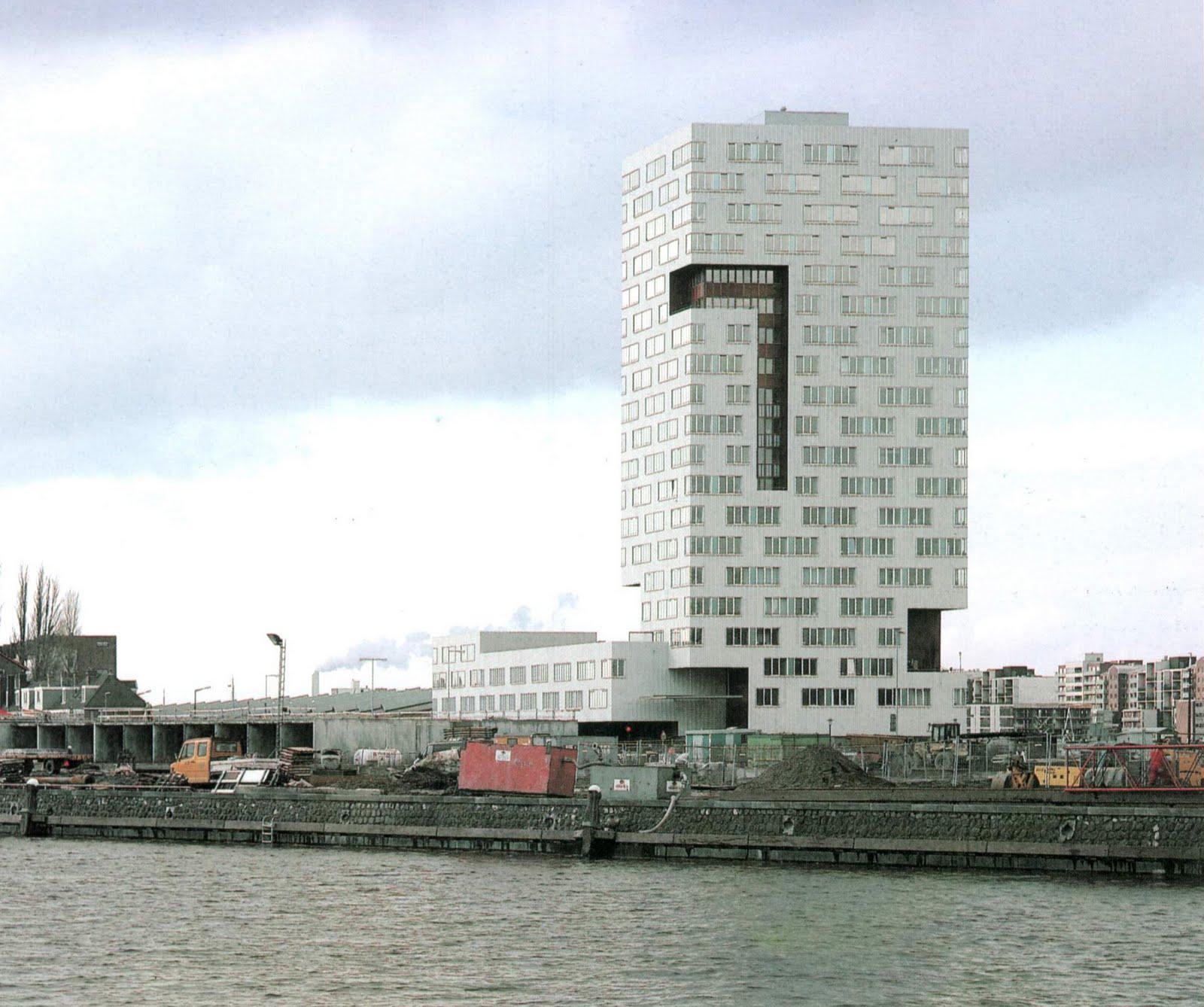 Neutelings riedijk torre ij de apartamentos en amsterdam hic arquitectura - Apartamentos en amsterdam ...