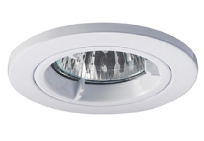 The Illuma Fireseal DDF10611 fire-rated downlight - IP20 fixed diecast aluminium light