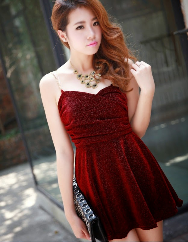 Gaun Pesta Model Korea Terbaru Fashion Catalog