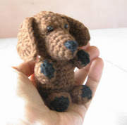 . at who favorited this pattern, I saw this reallife dachshund puppy in .